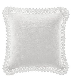 Laura Ashley® Solid Square Decorative Pillow