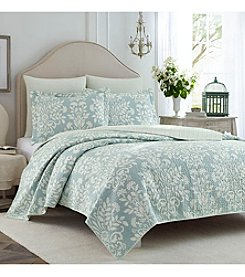 Laura Ashley® Rowland Quilt and Sham Set