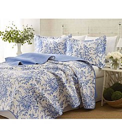 Laura Ashley® Bedford Quilt and Sham Set