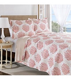 Laura Ashley® Coral Coast Quilt and Sham Set