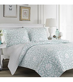 Laura Ashley® Mia Quilt and Sham Set