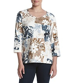 Alfred Dunner® Print Tee