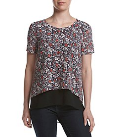 MICHAEL Michael Kors® Petites' Back Cut Out Blouse