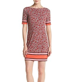MICHAEL Michael Kors® Petites' Augusta Border Dress