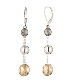 Nine West® Linear Drop Earrings