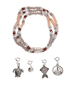 L&J Accessories Interchangeable Charm Bracelet