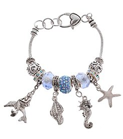 L&J Accessories Sealife Charm Bracelet