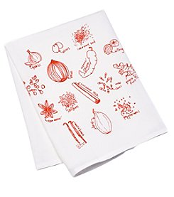 Girls Can Tell gift co. Not Green Herbs Tea Towel