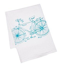 Girls Can Tell gift co. Bicycle Tea Towel