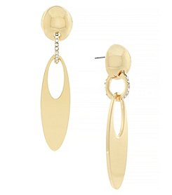 Jessica Simpson Door Knocker Earring