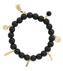 Jessica Simpson Peace Stretch Bracelet