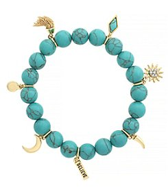 Jessica Simpson Believe Stretch Bracelet