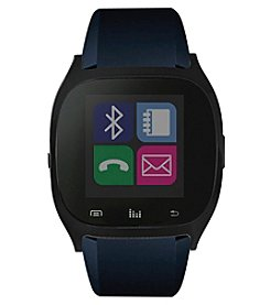 iTouchless Black/Navy Smart Watch