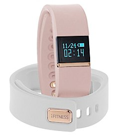 iTouchless Women's iFitness Blush/White Activity Tracker