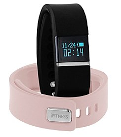 iTouchless Women's iFitness Black/Pink Activity Tracker