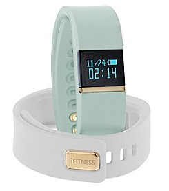 iTouchless Women's iFitness Mint/White Activity Tracker