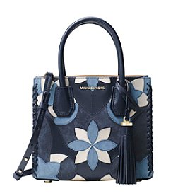 MICHAEL Michael Kors KORS STUDIO Mercer Floral Patchwork Leather Crossbody