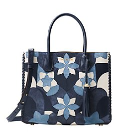 MICHAEL Michael Kors KORS STUDIO Mercer Large Floral Patchwork Leather Tote