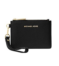 MICHAEL Michael Kors® Small Mercer Leather Ruffled Coin Purse