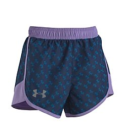 Under Armour® Girls' 2T-4T Logo Toss Fast Lane Shorts