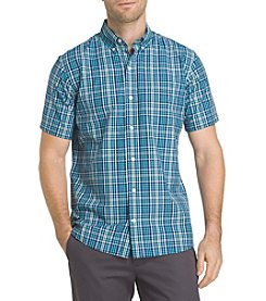 IZOD® Men's Short Sleeve Breeze Woven Button Down Shirt