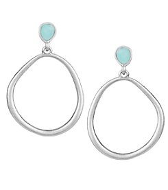 The Sak® Doorknocker Hoop Earrings