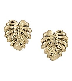 The Sak® Leaf Stud Earrings