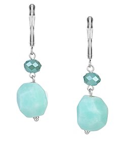 The Sak® Double Beaded Drop Earrings