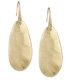 The Sak® Goldtone Paddle Drop Earrings