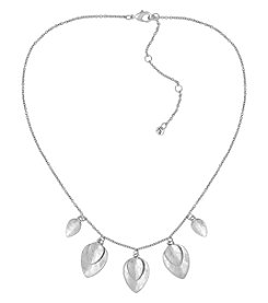 The Sak® Silvertone Frontal Necklace