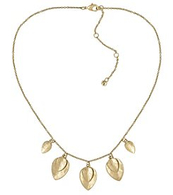 The Sak® Goldtone Frontal Necklace