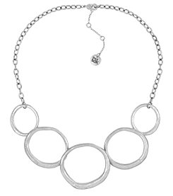 The Sak® Silvertone Open Link Collar Necklace