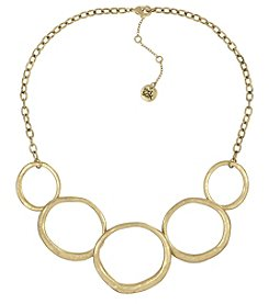 The Sak® Goldtone Open Link Collar Necklace