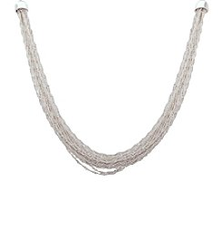 Nine West® Mutli Chain Frontal Necklace