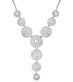 Lucky Brand® Pearl Circle Y Necklace