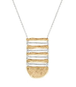 Lucky Brand® Two Tone Ladder Necklace