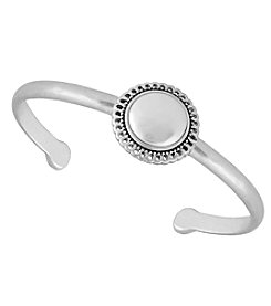 Lucky Brand® Simulated Pearl Cuff Bracelect