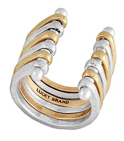 Lucky Brand® Stacked Two Tone Ring