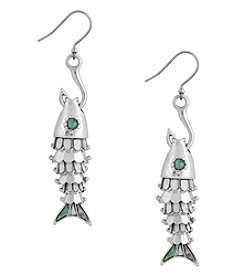 Lucky Brand® Fish And Hook Earrings
