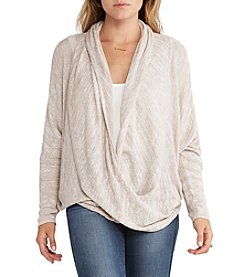 Silver Jeans Co. Dolman Wrapped Sweater