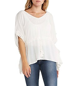 Silver Jeans Co. Cinched Waist Caftan Top