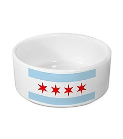 Sophisticated Pup Large Chicago Dog Bowl