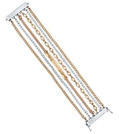 Lucky Brand® Two Tone Lucky Layer Bracelet