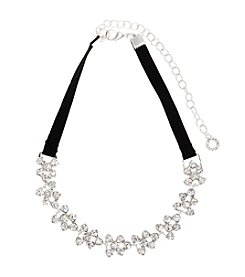 Anne Klein® Crystal Choker Necklace