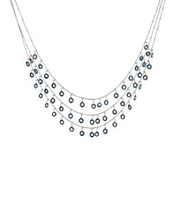 Anne Klein® Blue Shaky Necklace