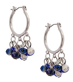 Erica Lyons® Bohemian Rhapsody Bead Drop Earrings