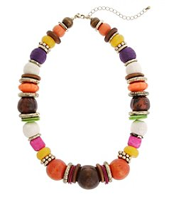 Erica Lyons® Bohemian Rhapsody Bead Necklace