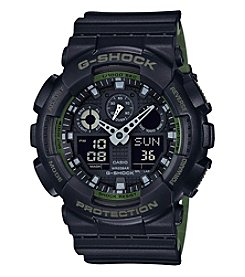 G-Shock® Men's Military Colored Layered Band Ana-Digi Watch