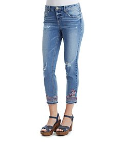 Democracy Slim Cropped Jeans