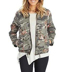 Democracy Camo Bomber Jacket